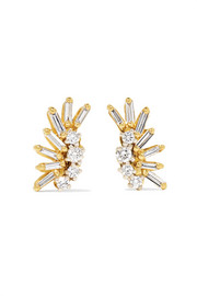 Suzanne Kalan Boucles d'oreilles en or 18 carats et diamants