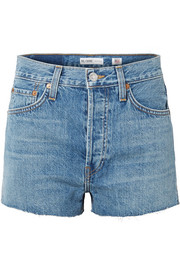 The Short frayed denim shorts