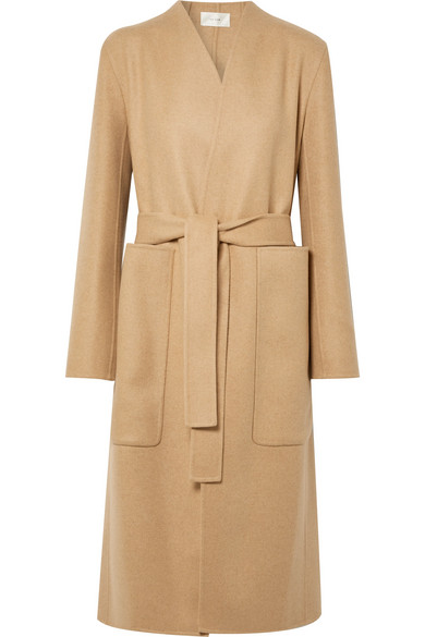 Paret Belted Wool And Cashmere Blend Coat by The Row
