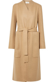 The Row Paret belted wool and cashmere-blend coat