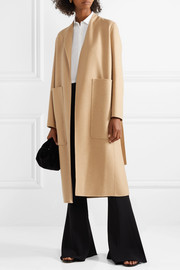 Paret belted wool and cashmere-blend coat