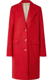 The Row Teymon oversized grain de poudre wool coat