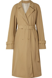 The Row Nueta oversized wool-blend trench coat