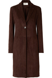The Row Pryor suede coat