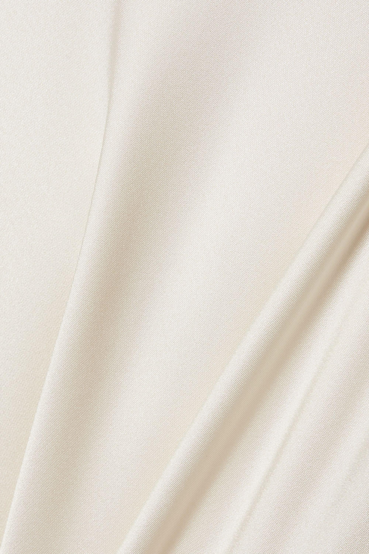 The Row Gran open-back silk-satin gown