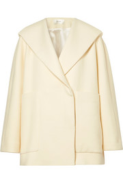 The Row Ernstly oversized cotton and wool-blend jacket