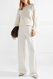 Clyde oversized cashmere and silk-blend sweater