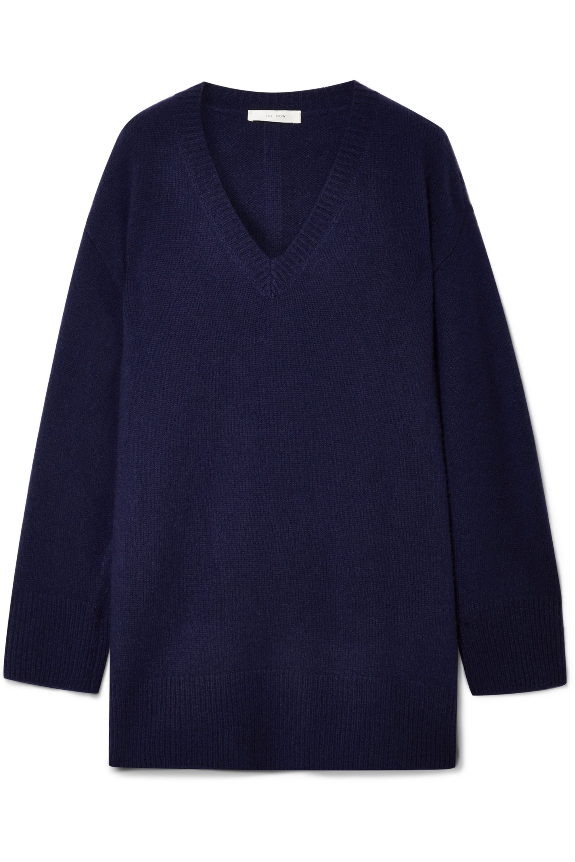 The Row Sabrinah oversized cashmere and silk-blend sweater