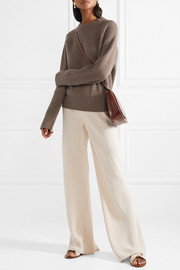 The Row Bowie ribbed cashmere sweater