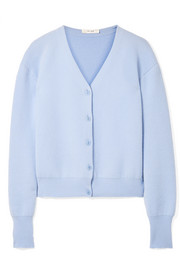 The Row Nesta merino wool and cashmere-blend cardigan
