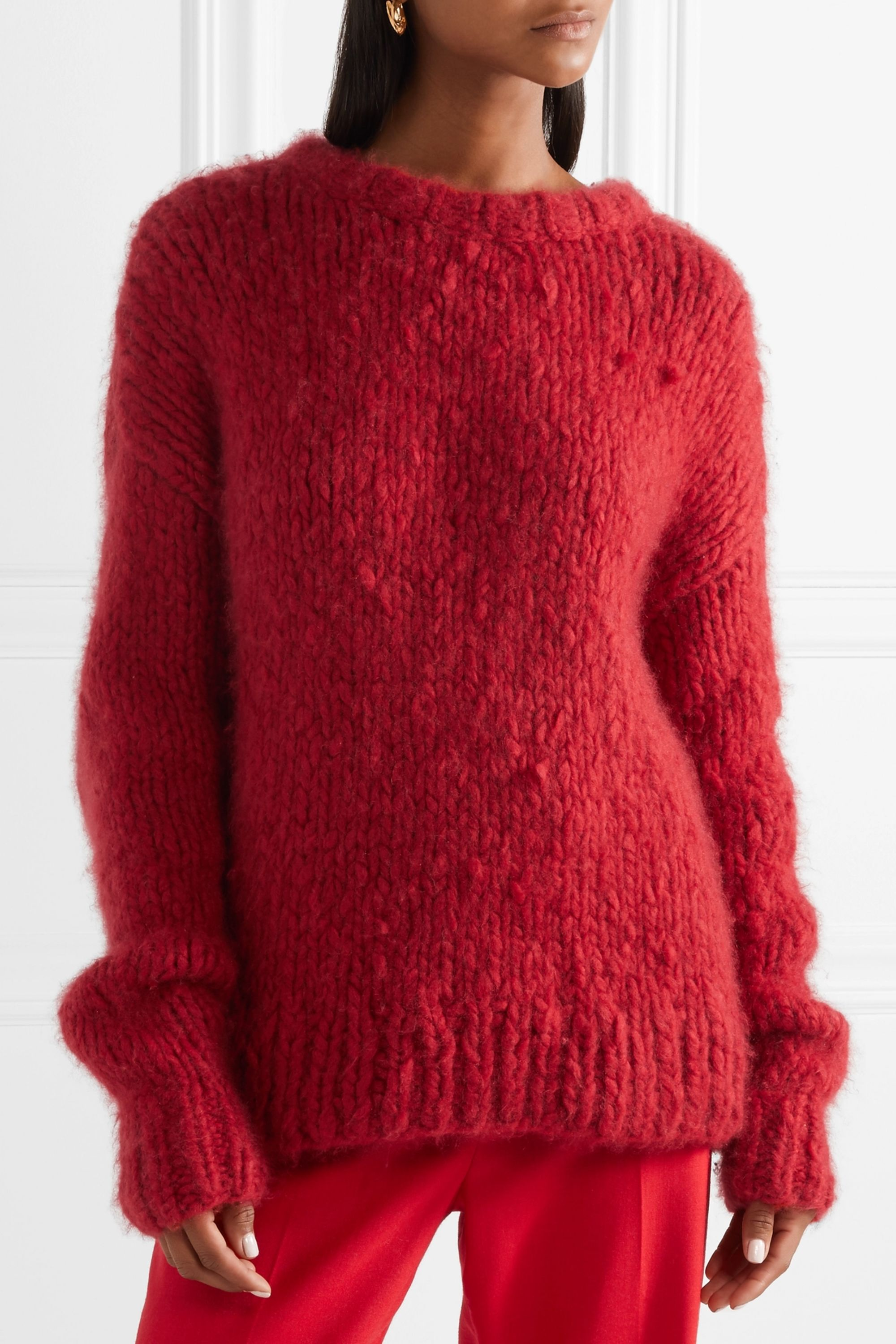 The Row Ophelia oversized cashmere sweater