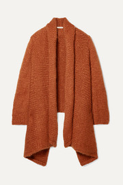 The Row Kaylin oversized asymmetric cashmere cardigan