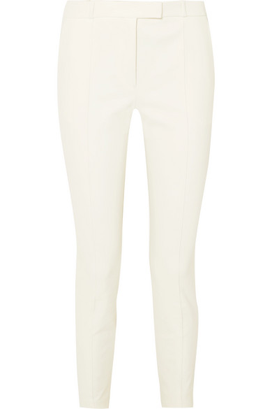 Tao Grain De Poudre Cotton Blend Slim Leg Pants by The Row