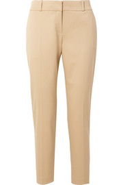 The Row Blake stretch-wool twill straight-leg pants