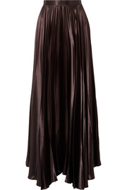 The Row Vailen charmeuse maxi skirt