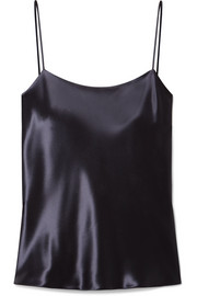 The Row Biggins satin camisole