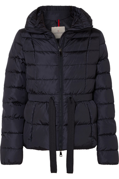 2277d9c32f7 Moncler | Belted quilted shell down jacket | NET-A-PORTER.COM