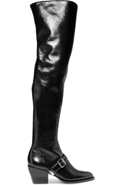 Rylee leather over-the-knee boots