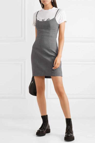 Alexander Wang Dress Houndstooth tweed mini dress