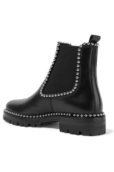 Alexander Wang | Spencer Chelsea Nieten Boots aus Leder mit Nieten Chelsea 845d82