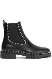 Spencer studded leather Chelsea boots