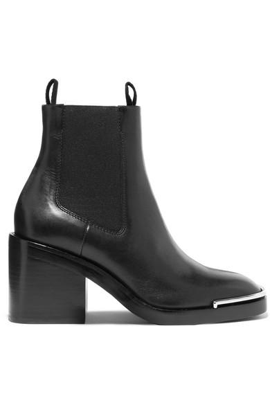 mode de premier ordre qualité authentique vraie qualité Hailey leather ankle boots