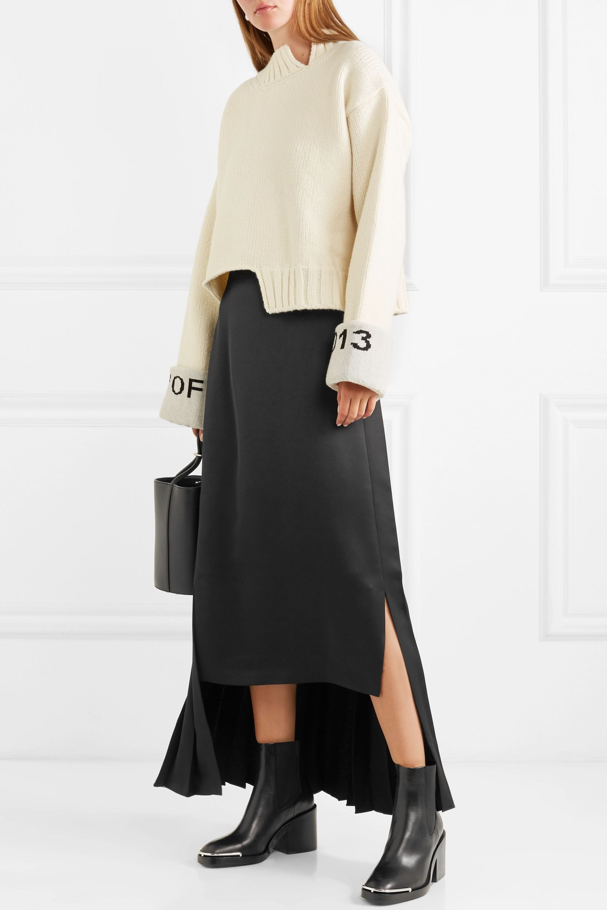 Alexander Wang Hailey leather ankle boots