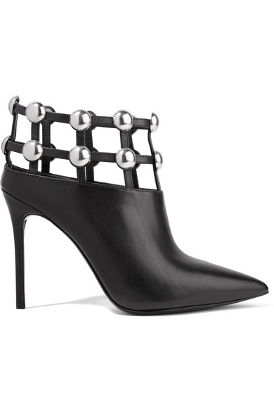 Alexander Wang Boots Tina studded leather ankle boots