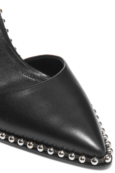 Alexander Wang Pumps Rina studded leather slingback pumps