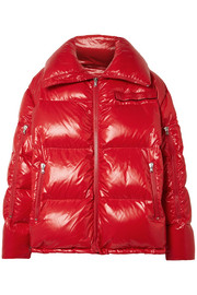 CALVIN KLEIN 205W39NYC Oversized quilted coated-shell jacket