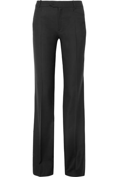 Rocker Super 100 Wool Twill Wide Leg Pants by Joseph