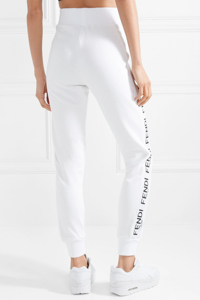 Pants Cotton com Blend Track Jersey Fendi Wonders Net Porter A CAwXqZax5n