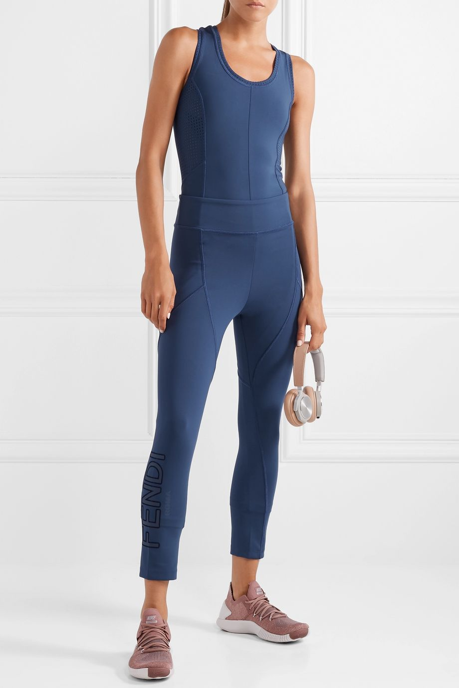 Fendi Roma stretch leggings