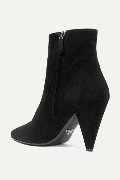 Prada | Ankle Boots Boots Ankle aus Veloursleder 68c899