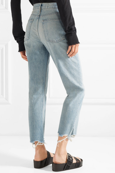 W3 Higher Ground Cropped Frayed High-rise Straight-leg Jeans - Light denim 3x1 Free Shipping Official Site Many Colors Reliable Online Outlet 2018 Unisex Cheapest Cheap Price sKqfI0g