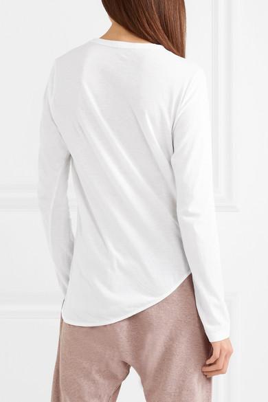 Heritage 有机纯棉平纹针织 T 恤展示图