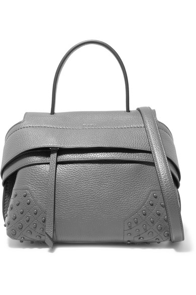 e6dc3ae6d4c0 Tod s. Wave mini textured-leather shoulder bag
