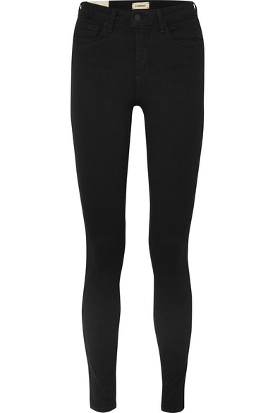 The Marguerite High Rise Skinny Jeans by L'agence
