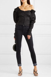 The Marguerite high-rise skinny jeans