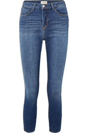 The Margot cropped high-rise skinny jeans