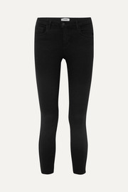The Mazzy cropped low-rise skinny jeans