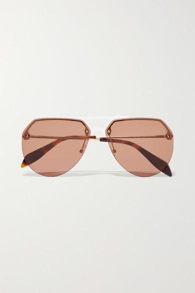 Pilotensonnenbrille aus Azetat sAzpNX