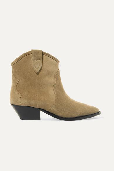 9854e3e41fe Isabel Marant | Dewina suede ankle boots | NET-A-PORTER.COM