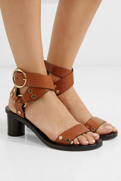 Jeyka Studded Leather Sandals by Isabel Marant