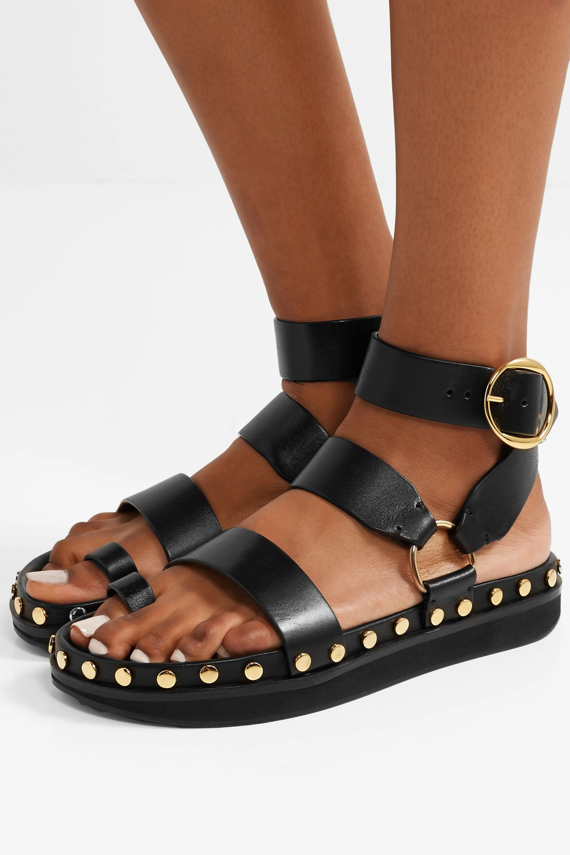 Isabel Marant Nirvy studded leather sandals