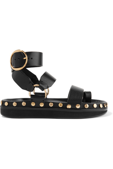 4309a3d476e2 Isabel Marant. Nirvy studded leather sandals