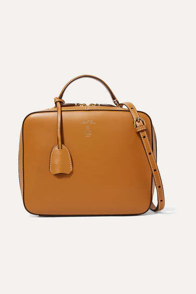 Mark Cross - Laura Leather Shoulder Bag - Tan