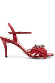 Gucci Queen Margaret embellished leather sandals