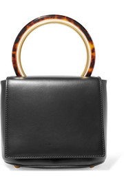 Marni Pannier leather tote