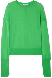 Helmut Lang Cotton and cashmere-blend sweater